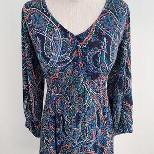 Anthropologie Dresses - Anthro Maeve Paisley Dress